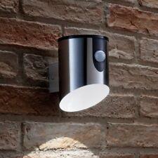 Auraglow Battery Powered Wireless Outdoor Steal PIR Motion Sensor LED Wall Light