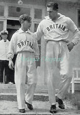 Berlin Olympic Games Fred Hodges Godfrey Rampling Ron Walker 1936 Photo Article