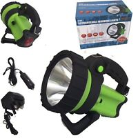 Hunting Farmer 5 Million 5 Watt Cree 600M Beam Rechargeable Torch Spot Lamp Hand