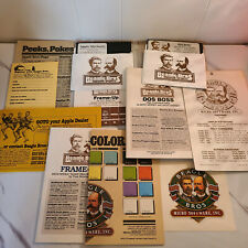 Vintage Apple II Software - Beagle Bros 1982 Shape Dos Boss Sticker Lot 5.25