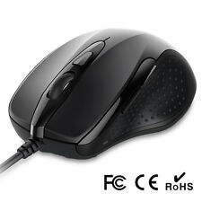 Business Office USB Wired Optical Mouse Mice For PC Computer Laptop Scroll Wheel