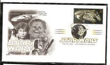 US SC # 4143b Millenium Falcon ( Star Wars ) FDC. Artcraft cachet