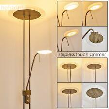 Lampadaire à vasque LED Variateur Lampe de bureau Lampe liseuse Luminaire Métal