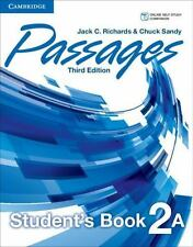 PASSAGES LEVEL 2 STUDENT'S BOOK A 3RD EDITION by RichardsJack C. (2014,...