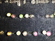 Bells with many designs Body Jewelry Tongue Bar