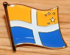 Scilly Isles Flag Enamel Pin Badge UK Great Britain
