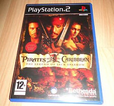 PS2 GAME: PIRATES OF THE CARIBBEAN THE LEGEND OF JACK SPARROW 'PAL UK'