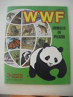 Albúm completo WWF. ADENA. Animales en Peligro. Panini. De1988