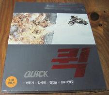 Quick ( Blu-ray ) / CJ E&M Limited Collection NO 15 / Korea Version / Eng Sub