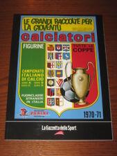 ALBUM CALCIATORI FIGURINE PANINI GAZZETTA DELLO SPORT 1970/71