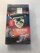 FRANKENSTEIN THE MAN WHO MADE A MONSTER VHS