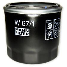 MANN-FILTER - Ölfilter - W 67/1 - Mazda 2,3,Mx-5,Premacy. Nissan Juke ,Micra,Qas