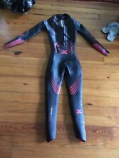 x-terra vector pro full sleeve triathlon wetsuit size xs men's