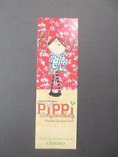 BOOKMARK Lauren Child PIPPI LONGSTOCKING Astrid Lindgren Book Oxford Advertising