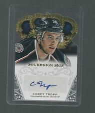 2013-14 COREY TROPP PANINI CROWN ROYALE DIE CUT AUTOGRAPH  NM
