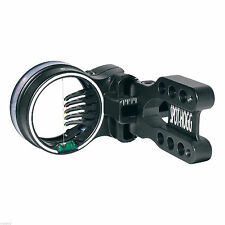 New Spot Hogg Right On Archery Bow Sight Black RH Large Wrapped 5 (.029) Pins