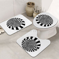 Shower Rug Bathroom Bath Mat Carpet Toilet Seat Cushion 3D Printing Non Slip