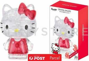 Hello Kitty 3D Puzzle 39 Pieces Crystal Gallery Sanrio Japanese puzzle