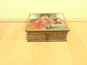 Vintage Decorative Storage / Jewellery Box