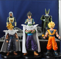 6PCS Dragon Ball Z Figure Piccolo Cell Trunks Super Saiyan Goku Vegeta toy PVC