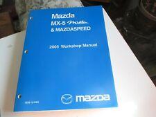 2005 Mazda MX-5 Miata & MAZDASPEED Shop Service Manual 2005