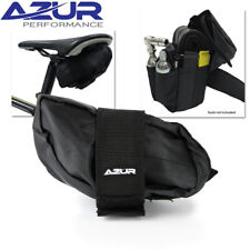 Azur Krak-It Small Bicycle Saddle Bag Black - 15 x 9 x 7.5cm