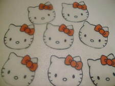 12 PRECUT Edible paper Hello Kitty cake/cupcake toppers