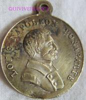 MED9695 - MEDAILLE JETON LOUIS NAPOLEON BONAPARTE ELU SUFFRAGE UNIVERSEL 1848