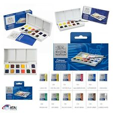 Winsor & Newton Cotman Watercolour Paint Sketchers Pocket Box 12 Half Pans