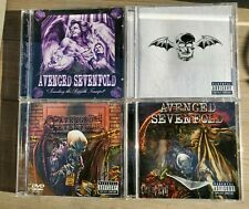 Avenged Sevenfold CDs X 4 All Access DVD/Seventh Trumpet/City Of Evil/Self Title