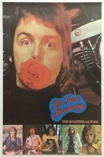 Paul McCartney And Wings 1973 Red Rose Speedway UK Promotional Poster