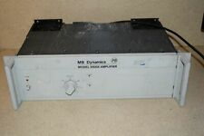 Mb Dynamics Model Ss250 Amplifier Model 7520 Ab1