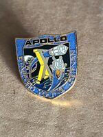 NASA SPACE SHUTTLE PIN ENAMEL VINTAGE APOLLO 10
