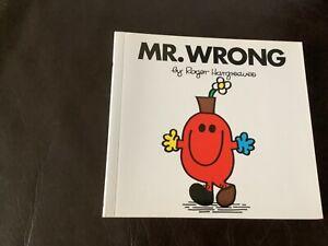 MR WRONG Mr Men Series Roger Hargreaves book no. 34