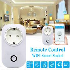 EU Sonoff S20 WiFi Wireless RemoteControl Timer Switch Smart Power Socket TU2