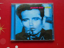 CD ADAM ANT - HITS CBS 1990 Rock/Pop Album 13 Tracks Ant Music, Dog Eat Dog, Str