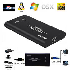 HDMI to USB 3.0 Video Capture Card TV Show Record Box Phone Game Live Streaming