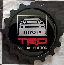 USA MADE Aluminum FJ Cruiser Grille Badge - TRD EDITION TRAIL TEAMS BLACK