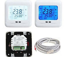 Touch Screen Programmable Heating Thermostat for Water/Electric Heating Systems