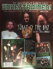 """Unrestrained Magazine - Issue 19 - 5th Anniversary """"96 Mammoth Pages"""" 2002"""