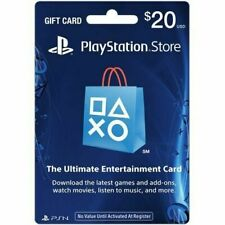 Sony PlayStation Network Card, $20 Gift Card