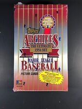 1994 Topps Archives 1954 Baseball Box-Possible Hank Aaron Auto?