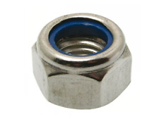 Ecrou frein Nylstop hexagonal M5 M6 INOX A2 DIN 985 WURTH