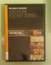 the history channel LEWIS AND CLARK multimedia classroom american series DVD CD