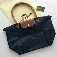 New Longchamp Le Pliage Nylon Tote Handbag Bag Size Large Navy Blue