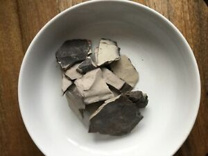 Edible Indian Grey Roasted Clay 25 Grams. With Free Fast Shipping