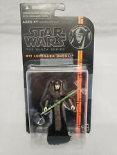 "2013 Star Wars The Black Series L:uminara Unduli 3.75"" Action Figure Opened"