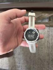 Garmin Instict HR, GPS, Compass, Alt, Outdoor Watch White