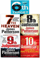 Womens Murder Club Collection James Patterson 5 Book Set (6 to 10) 6th Target