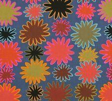Rowan Kaffe Fassett Uzbekistan PWGP136 Brown/Steely Blue Cotton Fabric BTY